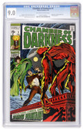 Bronze Age (1970-1979):Horror, Chamber of Darkness #3 (Marvel, 1970) CGC VF/NM 9.0 Off-white towhite pages....