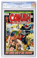 Bronze Age (1970-1979):Adventure, Conan the Barbarian #17 (Marvel, 1972) CGC NM- 9.2 White pages....