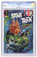 Bronze Age (1970-1979):Science Fiction, Star Trek #15 (Gold Key, 1972) CGC NM+ 9.6 White pages....