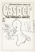Original Comic Art:Covers, Casper the Friendly Ghost #11 Cover Original Art (Harvey,1953)....