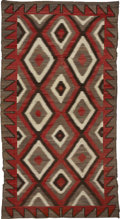 American Indian Art:Weavings, A NAVAJO REGIONAL RUG. Ganado. c. 1915...