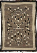 American Indian Art:Weavings, A NAVAJO REGIONAL RUG. c. 1935...