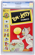 Golden Age (1938-1955):Cartoon Character, Tom and Jerry #61 File Copy (Dell, 1949) CGC NM 9.4 Off-white to white pages....