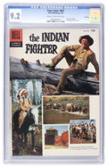 Silver Age (1956-1969):Miscellaneous, Four Color #687 The Indian Fighter - File Copy (Dell, 1956) CGC NM- 9.2 Cream to off-white pages....