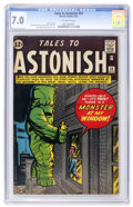 Silver Age (1956-1969):Horror, Tales to Astonish #34 (Marvel, 1962) CGC FN/VF 7.0 Off-whitepages....