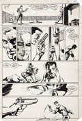 Original Comic Art:Panel Pages, Frank Miller and Klaus Janson Daredevil #184 Punisher page19 Original Art (Marvel, 1982)....