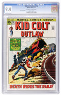 Bronze Age (1970-1979):Western, Kid Colt Outlaw #156 (Marvel, 1971) CGC NM 9.4 Off-white to white pages....