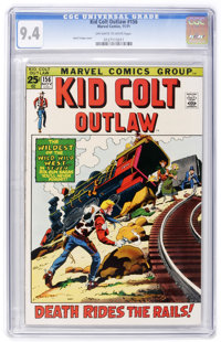 Kid Colt Outlaw #156 (Marvel, 1971) CGC NM 9.4 Off-white to white pages