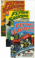 Silver Age (1956-1969):Science Fiction, Flying Saucers #2, 3, and 5 File Copy Group (Dell, 1967-69) Condition: Average VF/NM.... (Total: 3 Comic Books)