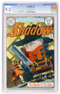Bronze Age (1970-1979):Miscellaneous, The Shadow #3 (DC, 1974) CGC NM- 9.2 Off-white to white pages....