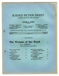 Memorabilia:Science Fiction, Science Fiction Digest #6 (1933) Condition: VG....