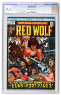 Bronze Age (1970-1979):Western, Red Wolf #1 (Marvel, 1972) CGC NM 9.4 Off-white to white pages....