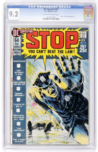 DC Special #10 Stop... You Can't Beat the Law (DC, 1971) CGC NM- 9.2 Off-white to white pages