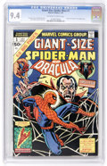 Bronze Age (1970-1979):Superhero, Giant-Size Spider-Man #1 (Marvel, 1974) CGC NM 9.4 Off-white to white pages....