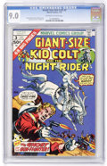 Bronze Age (1970-1979):Western, Giant-Size Kid Colt #3 (Marvel, 1975) CGC VF/NM 9.0 Off-white to white pages....