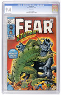 Bronze Age (1970-1979):Horror, Fear #3 (Marvel, 1971) CGC NM 9.4 White pages....