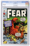 Bronze Age (1970-1979):Horror, Fear #1 (Marvel, 1970) CGC VF/NM 9.0 Off-white to white pages....