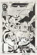 Original Comic Art:Covers, Alan Davis Batman and the Outsiders #22 Cover Original Art(DC, 1985)....