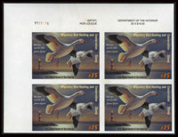 #RW70b, 2003, $15 Multicolored. (Original Gum - Never Hinged)