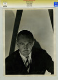 Movie/TV Memorabilia:Photos, John Barrymore Vintage Promo Photo by Clarence Bull....