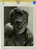 Movie/TV Memorabilia:Photos, Wallace Beery Promo Still by George Hurrell....