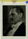 Movie/TV Memorabilia:Photos, Lionel Barrymore Promo Still by George Hurrell....