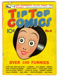 Golden Age (1938-1955):Miscellaneous, Tip Top Comics #6 (United Features Syndicate, 1936) Condition: VG....