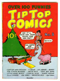 Golden Age (1938-1955):Miscellaneous, Tip Top Comics #8 (United Features Syndicate, 1936) Condition: Apparent FN Off-white to white pages....