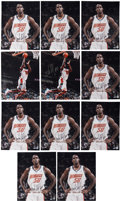 Autographs:Photos, Emeka Okafor Signed Photos. (Lot of 11)...