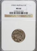 Buffalo Nickels: , 1938-D 5C MS66 NGC. PCGS Population (24269/1310). Mintage:7,020,000. Numismedia Wsl. Price for NGC/PCGS...