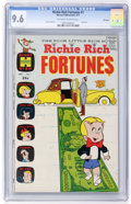 Bronze Age (1970-1979):Humor, Richie Rich Fortunes #1 File Copy (Harvey, 1971) CGC NM+ 9.6Off-white to white pages....