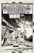 Original Comic Art:Covers, Luis Dominguez Weird War Tales #38 Unpublished AlternativeCover Original Art (DC, c. 1974)....