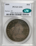 Early Dollars, 1800 $1 12 Arrows Good 6 PCGS. CAC....