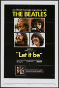 "Movie Posters:Rock and Roll, Let It Be (United Artists, 1970). One Sheet (27"" X 41""). Rock andRoll...."