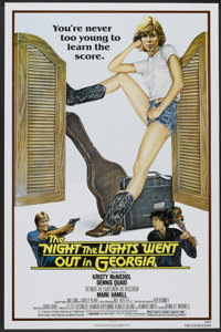 "The Night the Lights Went Out in Georgia (Avco Embassy, 1981). One Sheet (27"" X 41""). Drama"