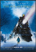 "Movie Posters:Animated, The Polar Express (Warner Brothers, 2004). Imax One Sheet (27"" X 40"") DS Advance 3-D Style. Animated...."