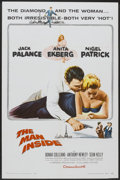 "Movie Posters:Adventure, The Man Inside (Columbia, 1958). One Sheet (27"" X 41"").Adventure...."