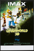 "Movie Posters:Animated, Cyberworld (IMAX, 2000). IMAX One Sheet (27"" X 40"") DS. Animated...."