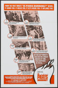 """Movie Posters:War, Is Paris Burning? (Paramount, 1966). One Sheets (2) (27"""" X 41"""")Style A and B. War.... (Total: 2 Items)"""