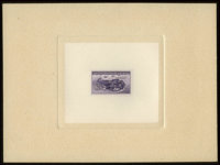 #925P1a, 1944, 3c Deep Violet, Large Die Proof on White Wove Paper