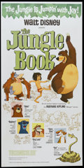 "Movie Posters:Animated, The Jungle Book (Buena Vista, 1967). Three Sheet (41"" X 81"").Animated...."