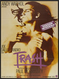 "Movie Posters:Drama, Trash (Action, R-1980s). French Grande (47"" X 63""). Drama...."