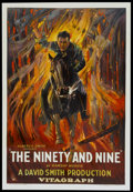 "Movie Posters:Drama, The Ninety and Nine (Vitagraph, 1922). One Sheet (27"" X 41"").Drama...."