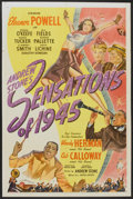 "Movie Posters:Musical, Sensations of 1945 (United Artists, 1944). One Sheet (27"" X 41""). Musical...."