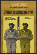 Movie Posters:War , I Was Monty's Double (CWF, 1963). Polish One Sheet (22.5X33). War....