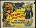 "Movie Posters:Adventure, Tarzan and the Huntress (RKO, 1947). Lobby Card Set of 8 (11"" X14""). Adventure.... (Total: 8 Items)"