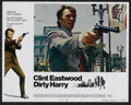 "Movie Posters:Crime, Dirty Harry (Warner Brothers, 1971). Lobby Card Set of 8 (11"" X14""). Crime.... (Total: 8 Items)"