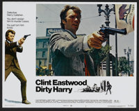 """Dirty Harry (Warner Brothers, 1971). Lobby Card Set of 8 (11"""" X 14""""). Crime.... (Total: 8 Items)"""