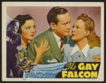 "Movie Posters:Mystery, The Gay Falcon (RKO, 1941). Lobby Cards (6) (11"" X 14""). Mystery.... (Total: 6 Items)"