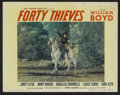 "Movie Posters:Western, Forty Thieves (United Artists, 1944). Lobby Card Set of 8 (11"" X 14""). Western.... (Total: 8 Items)"